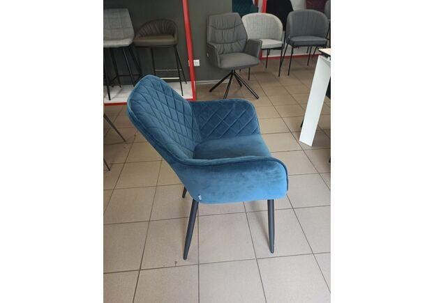 Кресло обеденное ANTIBA (Антиба) ткань полуночный синий - Фото №2