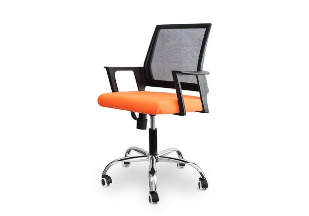 Кресло офисное Hi Tech black/orange - Фото №1