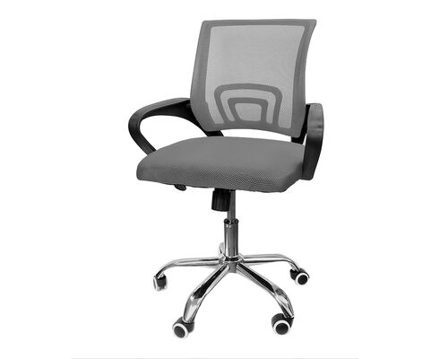 Кресло офисное Netway S black/grey - Фото №1