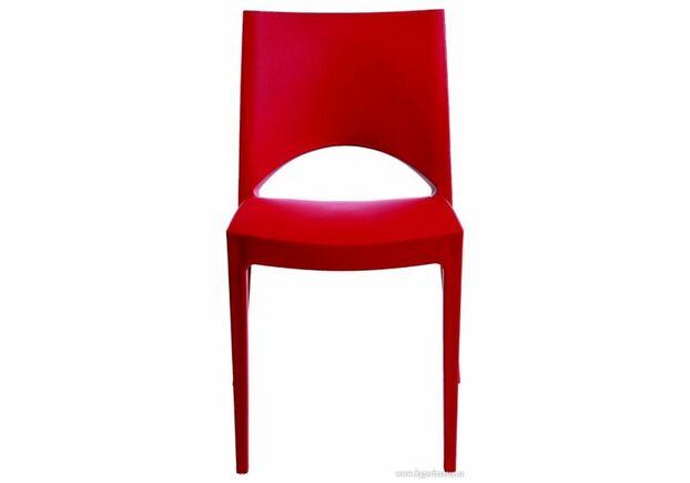 Пластиковый стул Paris rosso - Фото №1