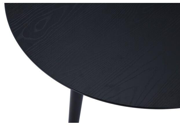 Стол круглый МДФ TM-99 черный - Фото №2