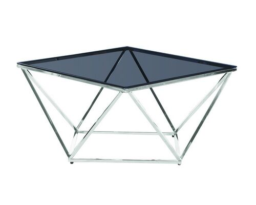 Журнальный стол CP-1 тонированный+серебро - Фото №1