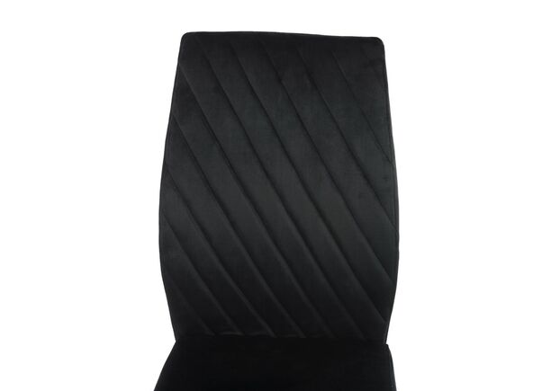 Стул S-118 черный вельвет - Фото №2