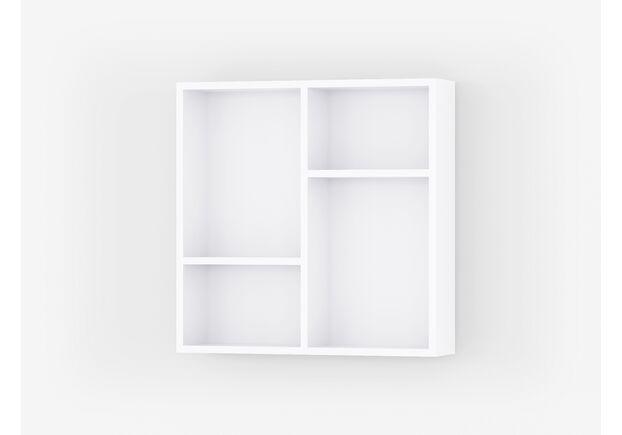 Настенные полки А-66 (2шт в комплекте) Белый - Фото №1
