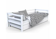 кровать в детскую белая 180*90