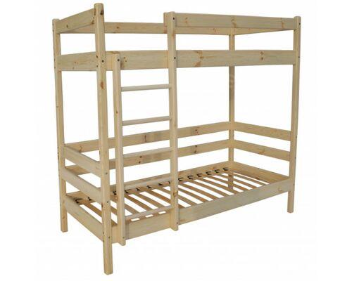 """Двухъярусная кровать """"Ирель-Комфорт"""" массив сосны 80*190 см - Фото №1"""