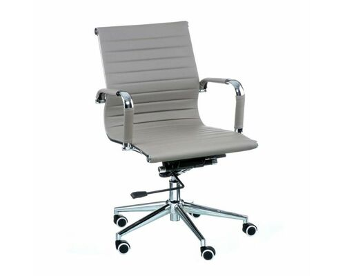 Кресло офисное Special4You  Solano 5 artleather grey - Фото №1