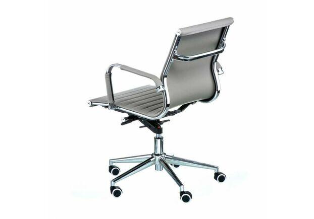 Кресло офисное Special4You  Solano 5 artleather grey - Фото №2