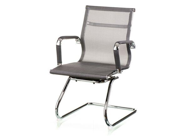 Кресло офисное Special4You  Solano office mesh grey - Фото №1