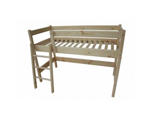 """Двухъярусная кровать-чердак """"Ирель"""" высота - 150см/сп.м 70*160 см - Фото №1"""