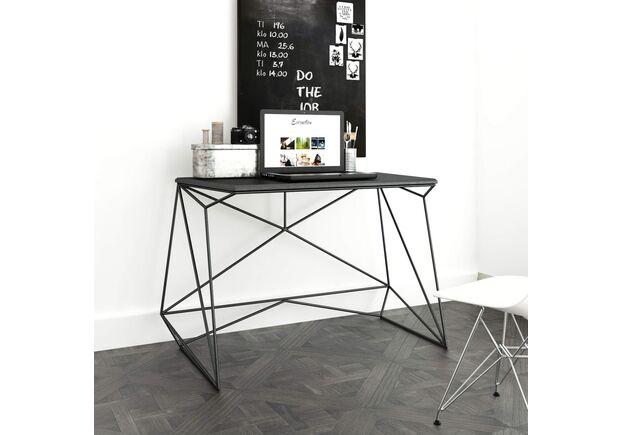 Письменный стол Alaska черный ясень/черный каркас - Фото №2
