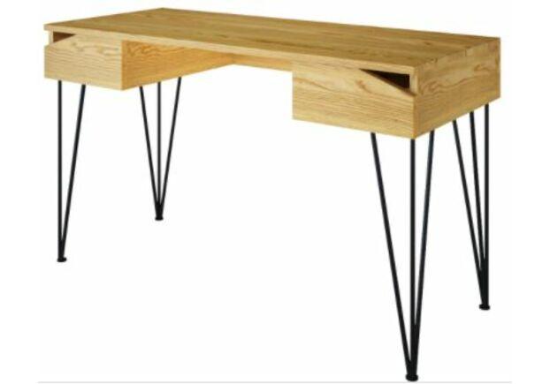 Письменный стол Dreamerзолотой ясень/черный каркас - Фото №1