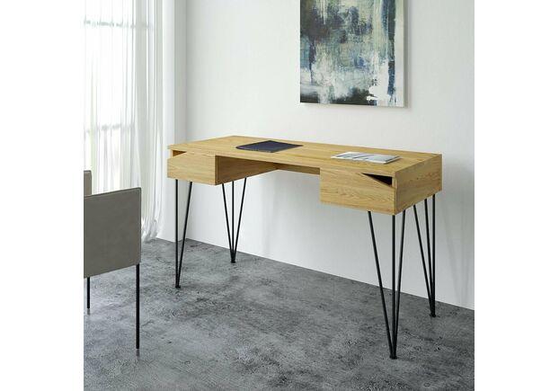 Письменный стол Dreamerзолотой ясень/черный каркас - Фото №2