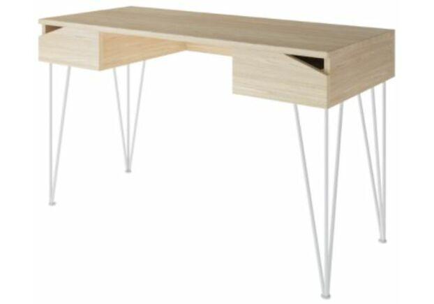 Письменный стол Dreamerвыбеленный ясень/белый каркас - Фото №1