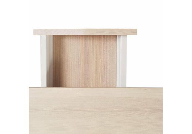 Письменный стол Dreamerвыбеленный ясень/белый каркас - Фото №2