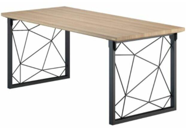 Конференц-стол Guipure натуральный ясень/черный каркас - Фото №1