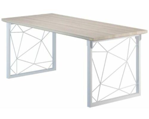 Конференц-стол Guipure выбеленный ясень/белый каркас - Фото №1