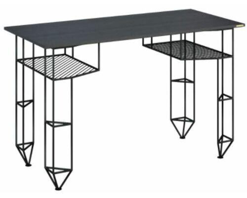 Письменный стол Markers черный ясень/черный каркас - Фото №1