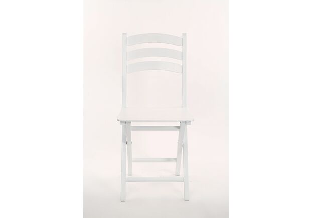 Стул раскладной WHITE Белый - Фото №2