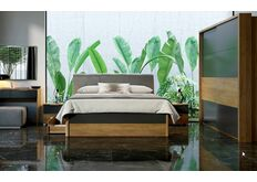 фото Комплект мебели в спальню Рамона со шкафом-купе 2 м