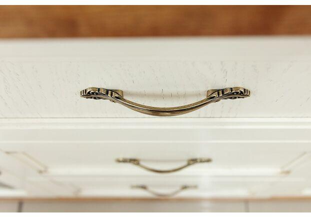 Комод витражный Фридом слоновая кость с золотой патиной - Фото №2