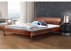 Кровать Николь 160x200 см темный орех