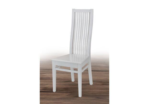 Стул с твердым сиденьем Парма белый - Фото №1