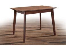 Стол обеденный Джаз 109(+30)*74*h75 см орех темный