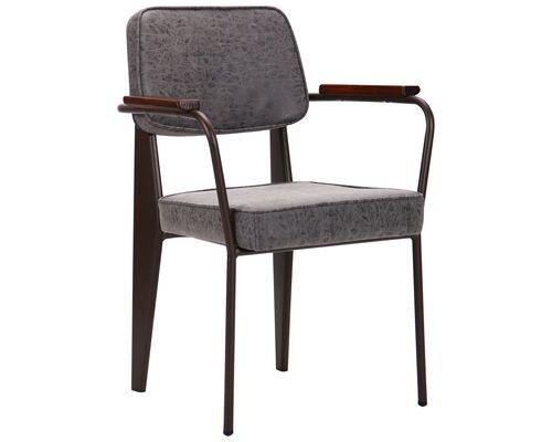 Кресло Lennon  кофе бетон - Фото №1