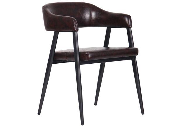 Кресло Ramones dark brown - Фото №1