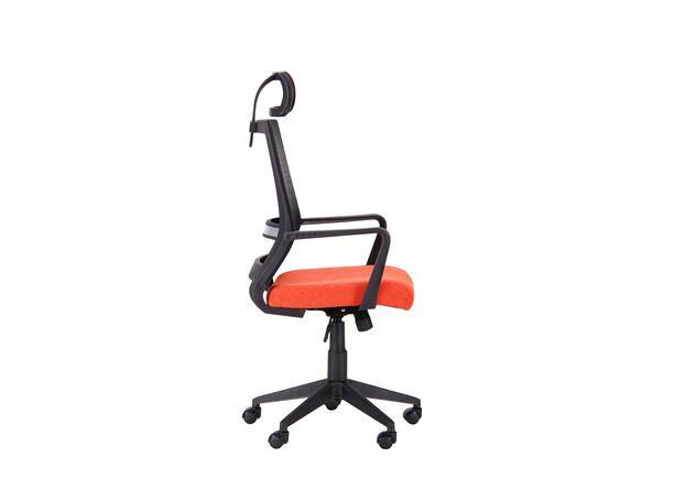 Кресло Radon черный/оранжевый - Фото №2