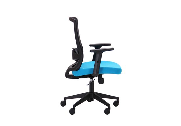 Кресло Xenon LB черный/лазурь - Фото №2