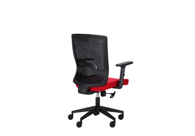 Кресло Xenon LB черный/гранат - Фото №2