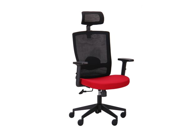 Кресло Xenon HB черный/гранат - Фото №1