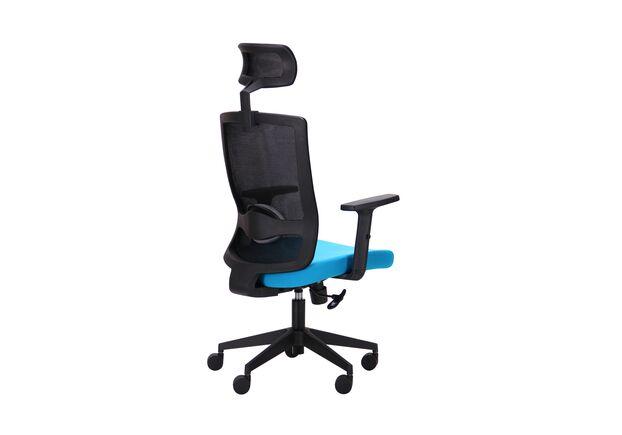 Кресло Xenon HB черный/лазурь - Фото №2