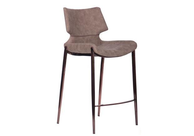 Барный стул Noir brass/ basalt - Фото №1
