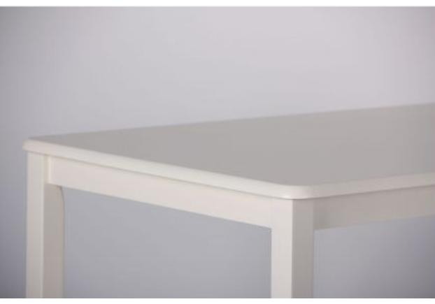 Комплект обеденный Брауни (стол+4 стула) белый шоколад/латте - Фото №2