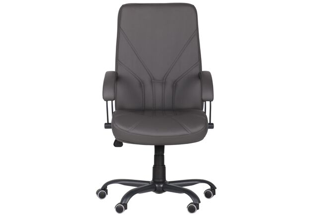Кресло Менеджер Черный графит Tilt Неаполь N-24 - Фото №2