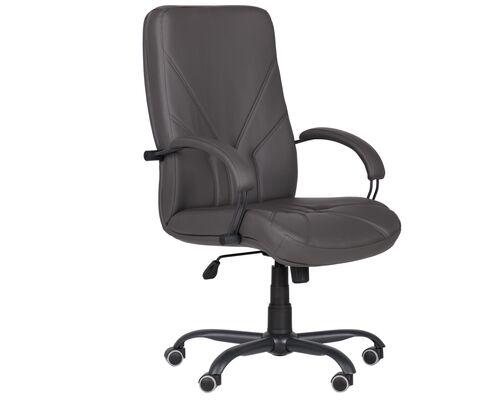 Кресло Менеджер Черный графит Tilt Неаполь N-24 - Фото №1