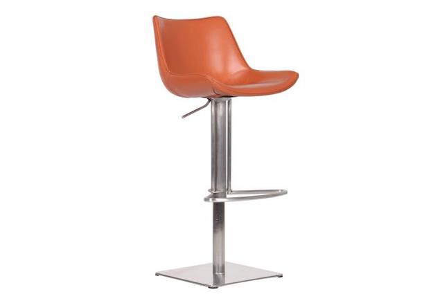 Барный стул Carner, caramel leather - Фото №1
