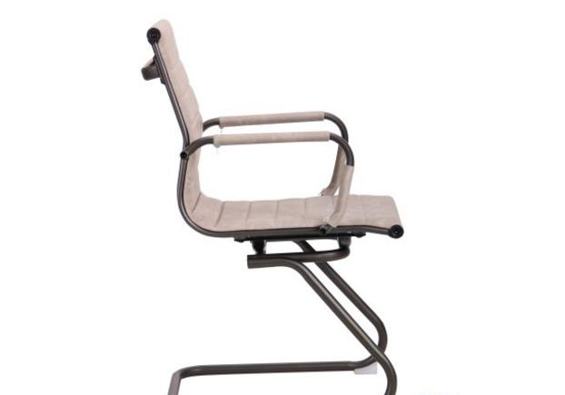 Кресло Slim Gun CF Wax Light Grey - Фото №2