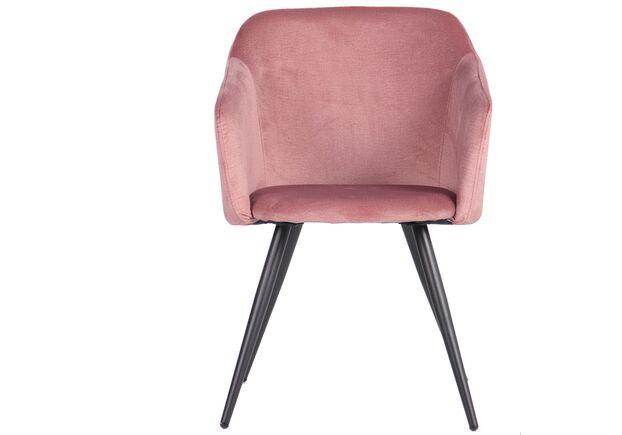 Кресло Lynette black/canyon rose розовый - Фото №2
