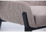 Кресло Charlotte черный/меланж латте - Фото №3