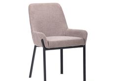 Кресло Charlotte черный/меланж латте