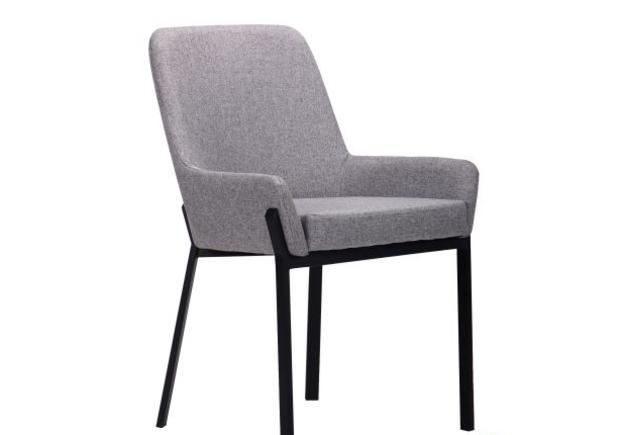 Кресло Charlotte черный/серый - Фото №1