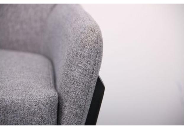 Кресло Charlotte черный/серый - Фото №2
