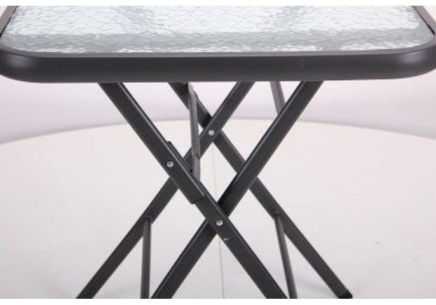 Стол Mexico т.серый, стекло - Фото №2