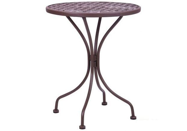 Стол Сорбонна сталь сетка тканная какао  - Фото №1