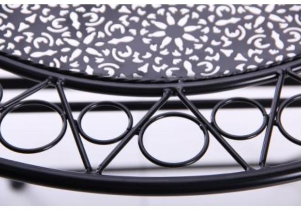 Стол Антиб металл, винтаж блек - Фото №2