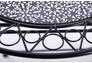Стол Антиб металл, винтаж блек - Фото №3